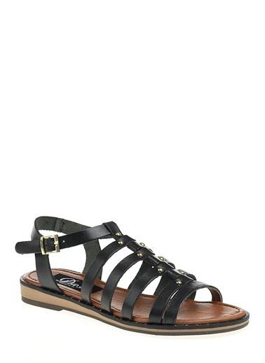 Derigo Sandalet Siyah